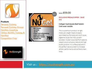 Australia Collagen Hydrolysate Beef Gelatin