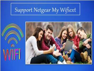 Support Netgear My Wifiext
