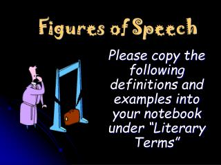 Figures of Speech