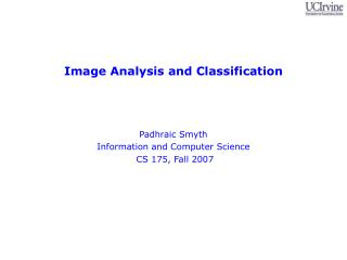 Image Analysis and Classification