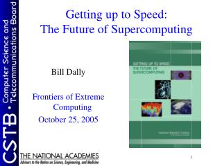 Getting up to Speed: The Future of Supercomputing