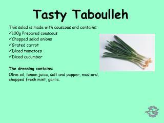 Tasty Taboulleh