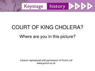 COURT OF KING CHOLERA
