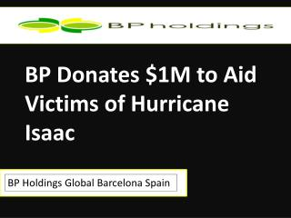 BP Holdings Global Barcelona Spain