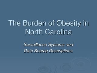 North Carolina Surveillance Systems