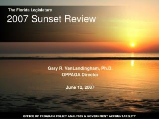 2007 Sunset Review