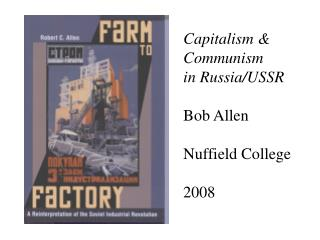 Capitalism  Communism in Russia