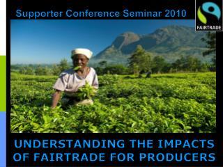 Supporter Conference Seminar 2010