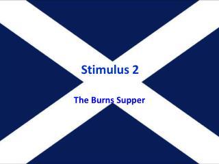 Stimulus 2