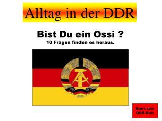 Alltag in der DDR