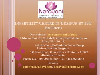 Infertility centre in udaipur by ivf experts