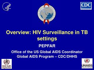 Overview: HIV Surveillance in TB settings