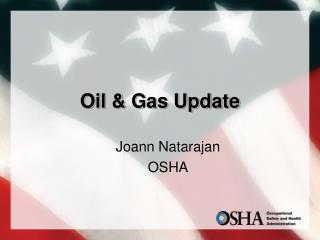 Oil  Gas Update