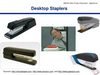 Desktop Staplers