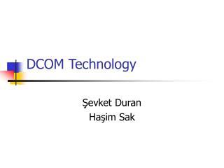 DCOM Technology
