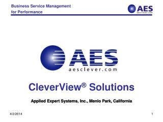 Applied Expert Systems, Inc., Menlo Park, California