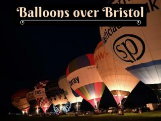 Bristol international balloon fiesta takes off
