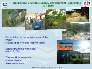 Caribbean Renewable Energy Development Programme  CREDP
