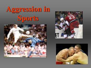 Why are athletes aggressive