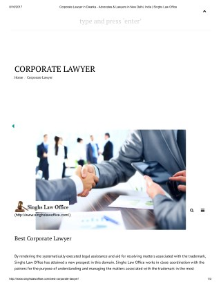 Best Corporate Lawyer