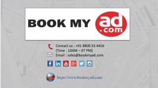Book Education Advertising in Newspaper | Classified Ads - Book My Ad