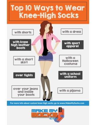 Top 10 Ways to Wear Knee-High Socks
