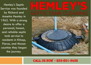 Septic Tank Inspection Service Gig Harbor