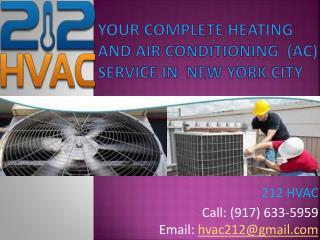 Ac repair NYC