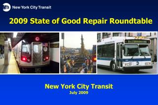 2009 State of Good Repair Roundtable