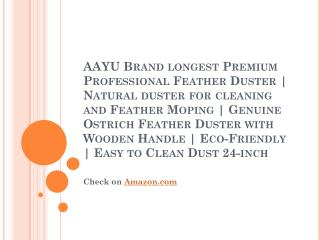 AAYU Brand longest Premium Professional Feather Duster - 60 CM