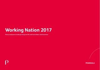 Peninsula Working Nation 2017