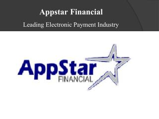 Appstar Financial - One Solution to Many Financial Querries