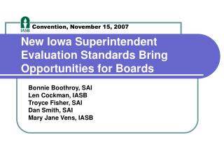 New Iowa Superintendent Evaluation Standards Bring Opportunities for Boards