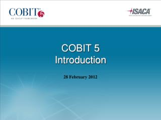COBIT 5  Introduction