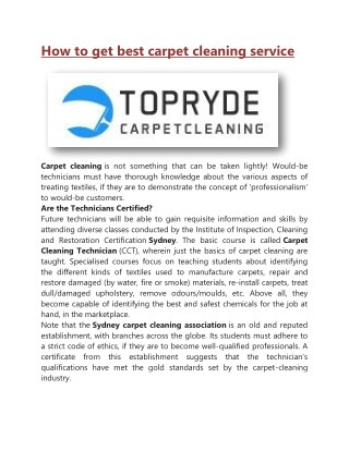 Ppt Carpet Cleaning Aberdeen Top Notch Service