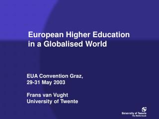 European Higher Education in a Globalised World