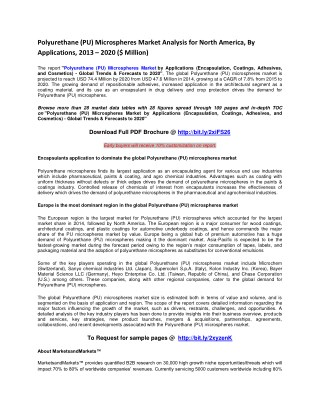 Polyurethane (PU)Microspheres Market