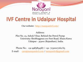 IVF Centre in Udaipur Hospital