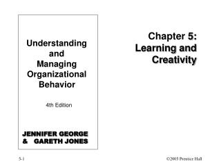 Chapter 5: Learning and Creativity