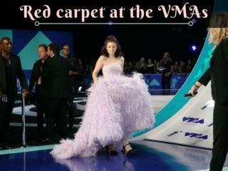 MTV Video Music Awards 2017 red carpet