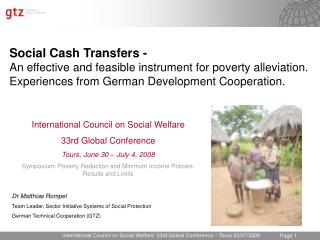 International Council on Social Welfare: 33rd Global Conference   Tours 03