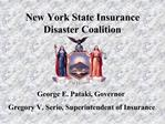 New York State Insurance Disaster Coalition