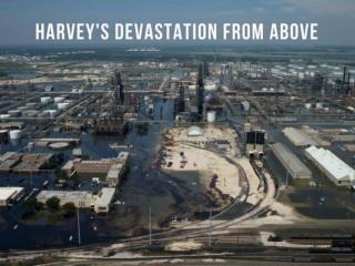 Harvey's Damage Viewed From Above