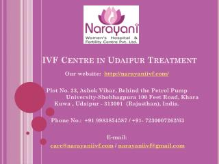 IVF Centre in Udaipur Treatment