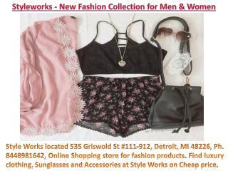 Style Works- 535 Griswold St #111-912, Detroit, MI 48226, Ph. 8448981642