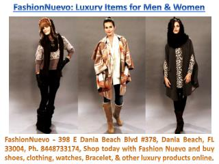Fashion Nuevo 398 E Dania Beach Blvd #378, Dania Beach, FL 33004, Ph. 8448733174