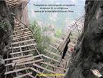 Trabajadores construyendo un sendero alrededor de la vertiginosa ladera de la monta a Shifou en China
