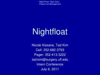Nightfloat