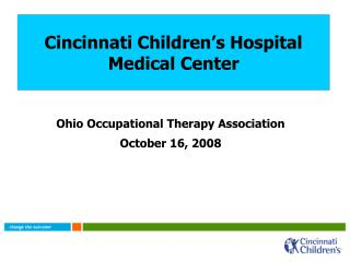 Cincinnati Children s Hospital  Medical Center
