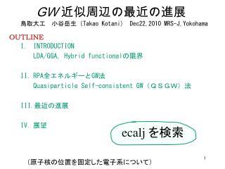 OUTLINE INTRODUCTION  LDA